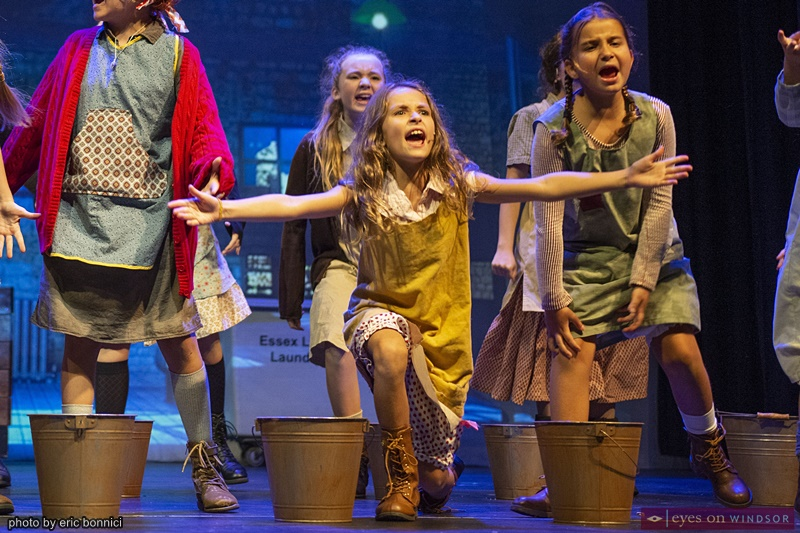 Koen Kavanaugh in Annie The Musical by Cardinal Music Productions