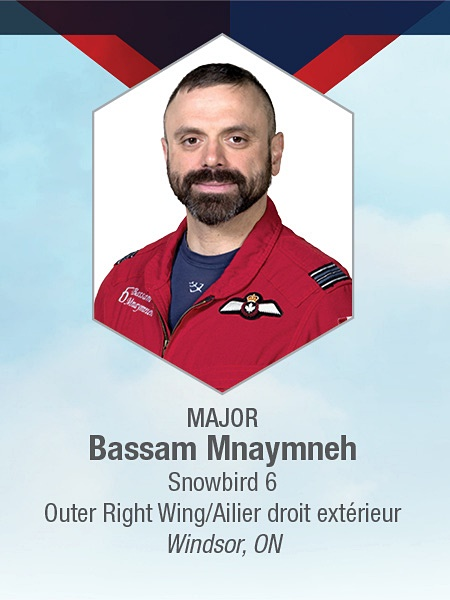 Major Bassam (Sam) Mnaymneh