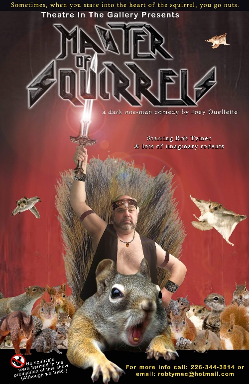 Master Of Squirrels Poster