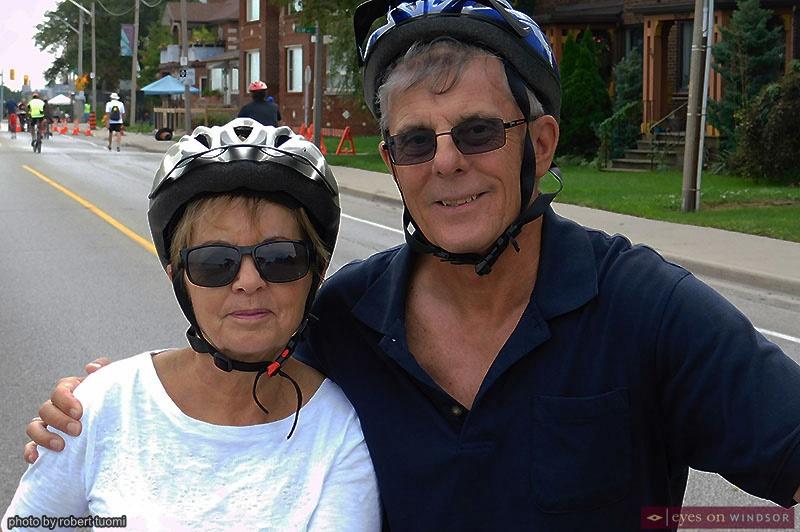 Alan and Susan Halberstadt at Open Streets Windsor