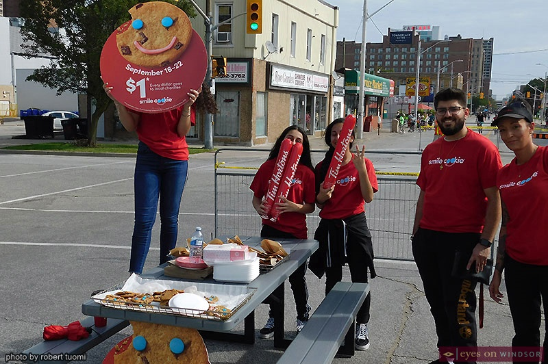 Tim Hortons Smile Cookies at Open Streets Windsor