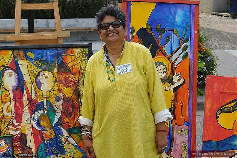Artist Rashmi Dadwal
