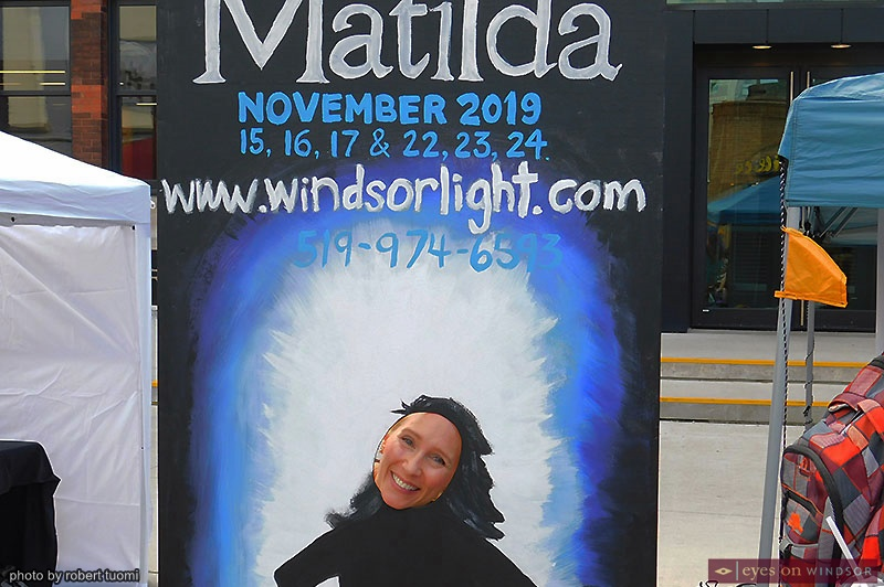 Windsor Light Music Theatre Marketing Director Elizabeth Kauric at Open Streets Windsor