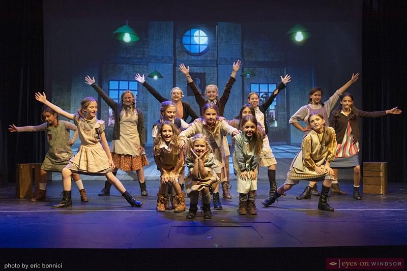 Annie The Musical Orphans