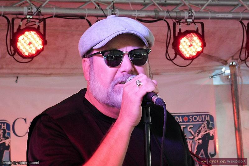 "Jeff Hoagland Band member Brian ""Windsor Slim"" Smith"