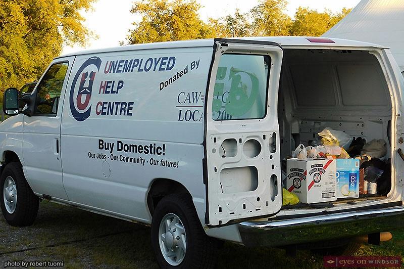 Unemployment Help Centre Van