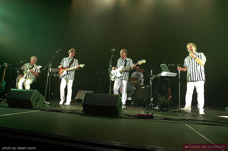 Beach Boys Tribute during Surfin' Safari Beach Party Tribute Concert
