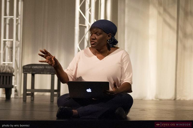 Director Tanisha Taitt, UP Windsor Othello