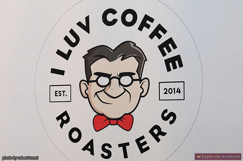 I Luv Coffee Roasters Banner featuring The Gord