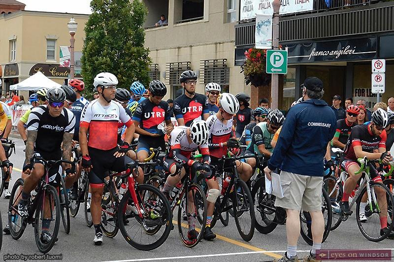Tour di Via Italia Master 2/Elite 3 race participants