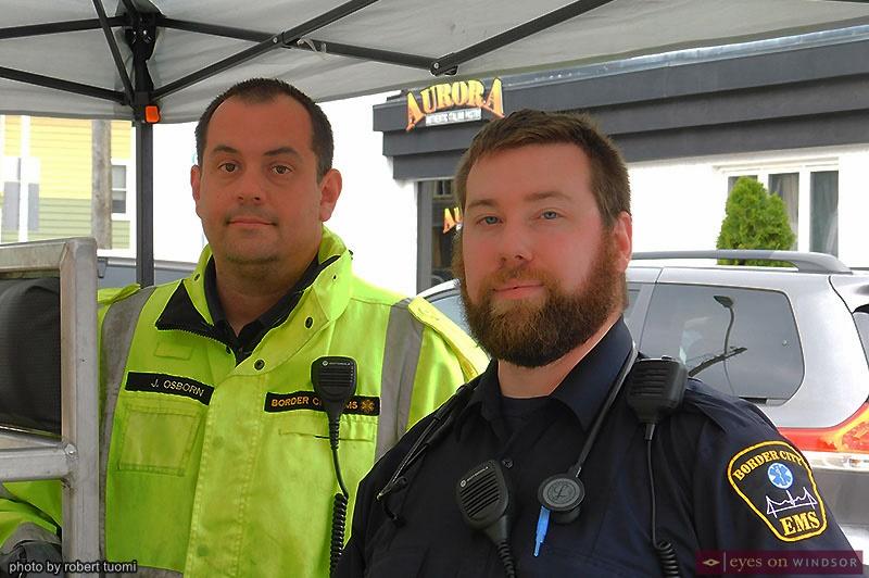 Border City EMS at the Tour di Via Italia