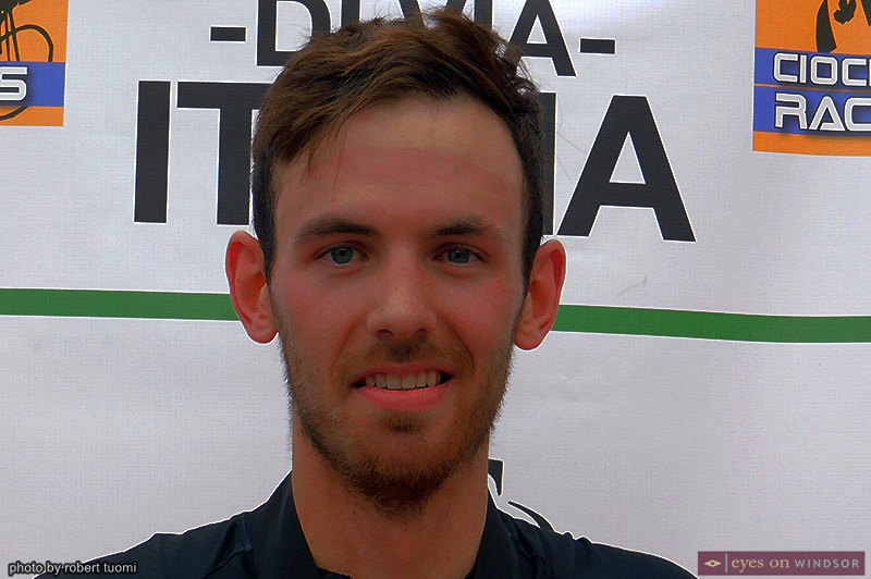 Tour di Via Italia Elite 3 Winner Victor Nicolet
