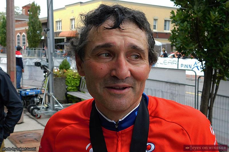 Tour di Via Italia racer Marco Polsinelli