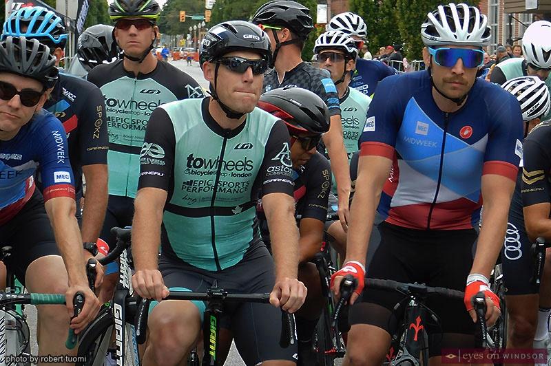 Tour di Via Italia second place finisher Jeff Schiller