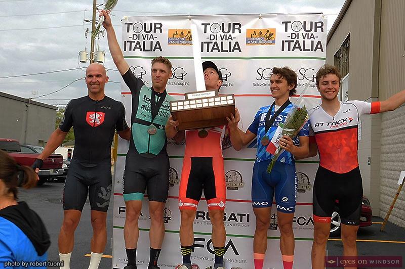 Tour di Via Italia 2019 Elite / Pro Men Winners