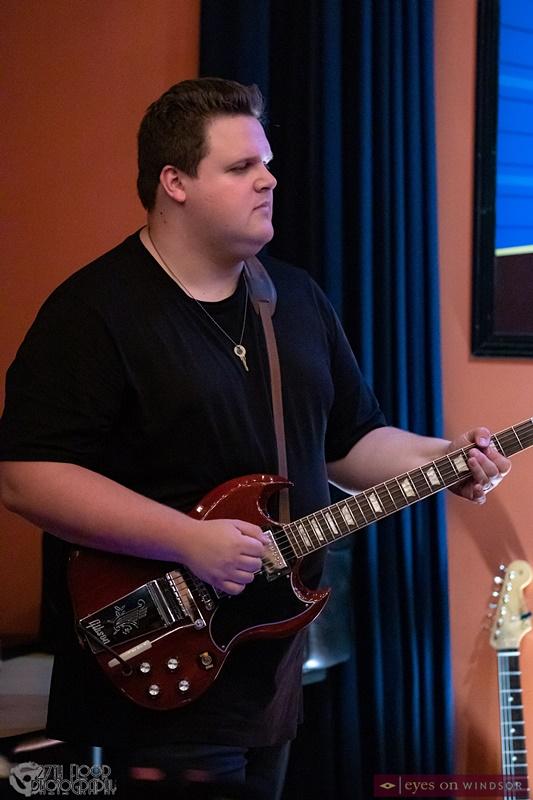 Guitarist Ty Sharron