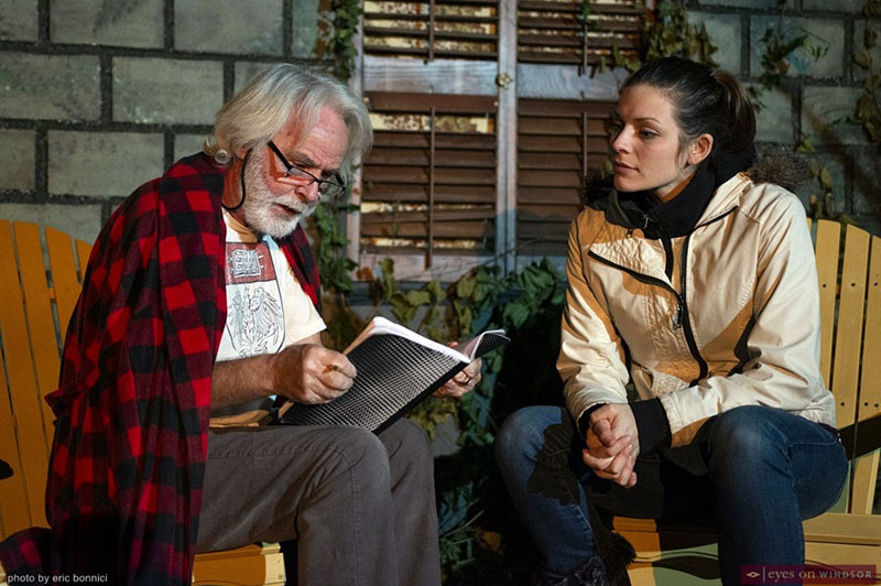 Bob Steele and Samantha Lillian in Proof by Bloomsbury House Stage Productions