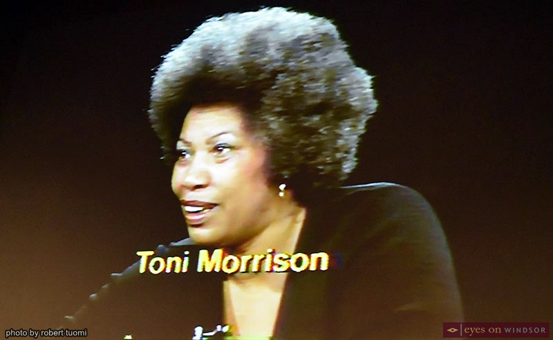 Video interview with author Toni Morrison at Bookfest Windsor