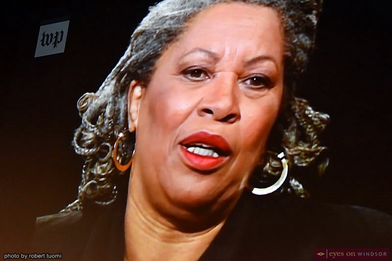 Videotaped interview with author Toni Morrison