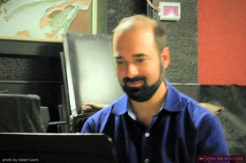 Pianist Mike Karloff