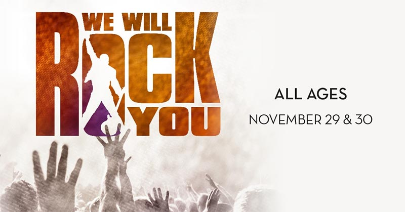 We Will Rock You Tour Live at Caesars Windsor