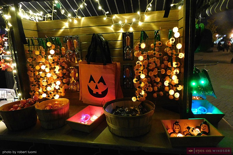 Lighted Halloween Necklaces at Greenfield Village