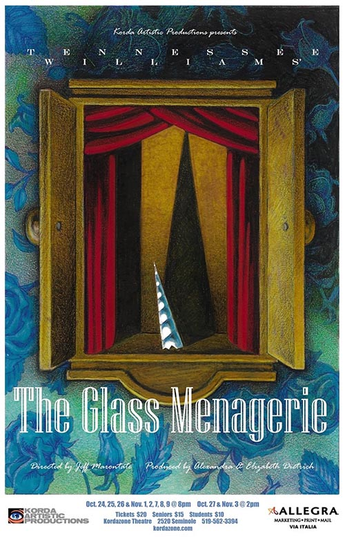 Korda The Glass Menagerie Poster