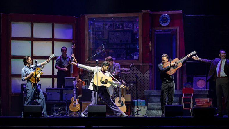 Million Dollar Quartet Recounts Famous Jam Session of 4 Iconic 1950s Musicians