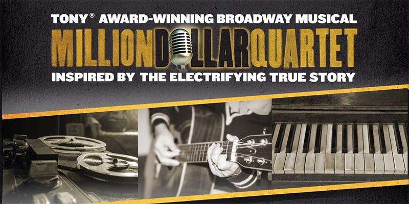 Million Dollar Quartet at Caesars Windsor Poster