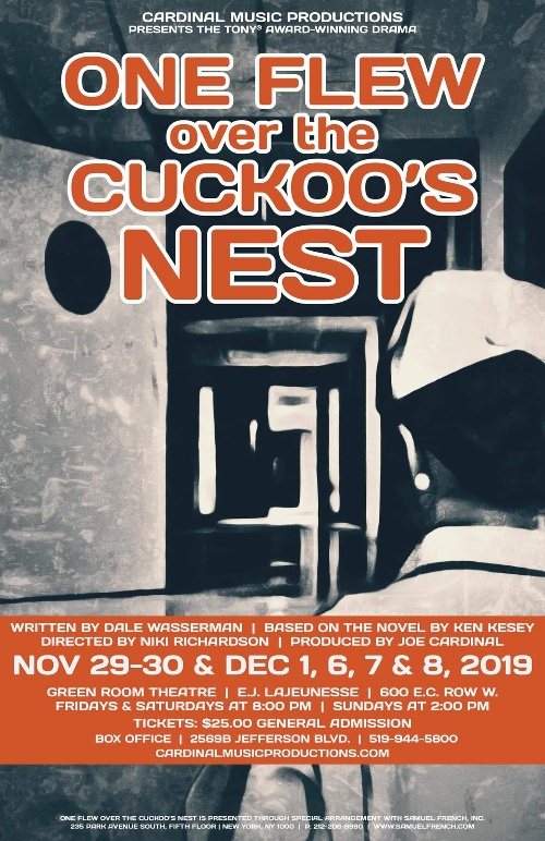 One Flew Over The Cuckoo's Nest Poster Presented by Cardinal Music Productions