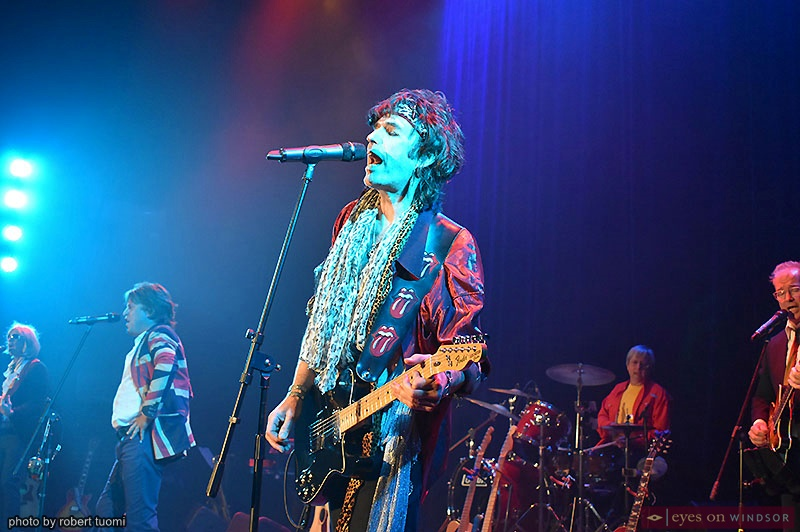 Rich Colgan performing as Keith Richards