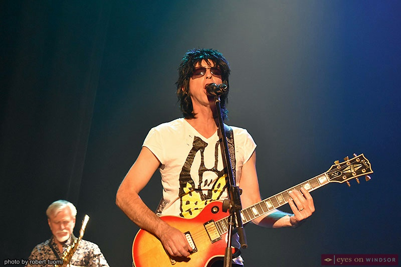 Jim Hubay as Ronnie Wood in Time Is on My Side: The Rolling Stones Story Tribute