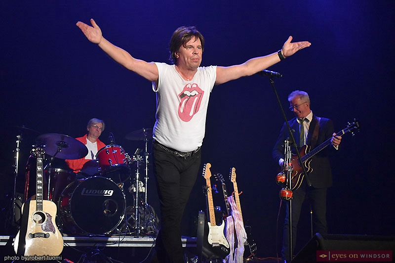 Michael Danckert as Mick Jagger in Time Is on My Side: The Rolling Stones Story Tribute