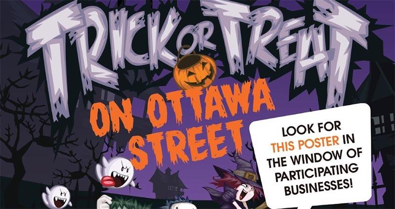 Trick or Treat on Ottawa Street
