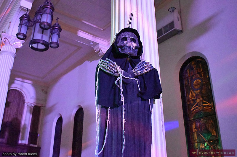 Water's Edge Halloween Charity Bash Grim Reaper