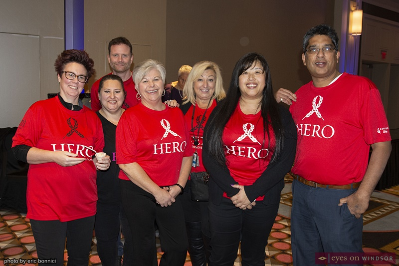 Caesars Windsor Heros volunteers at Artilicious Windsor