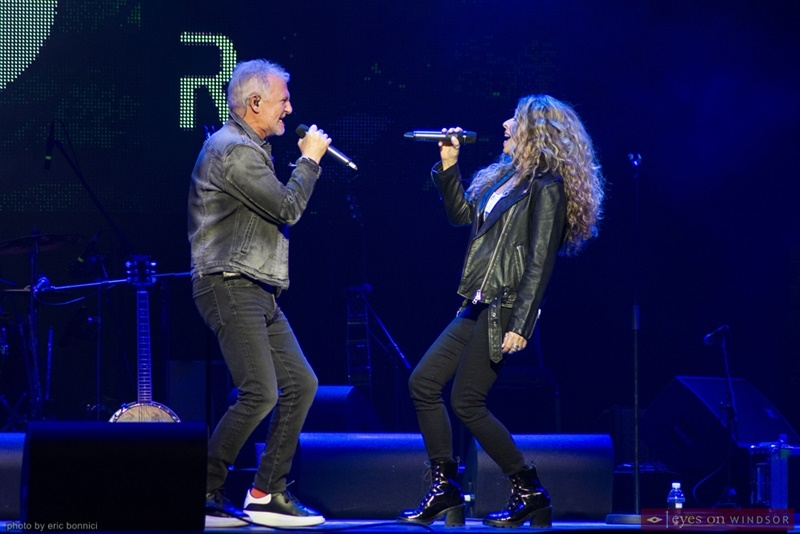 Alan Frew and Carmela Long Glass Tiger