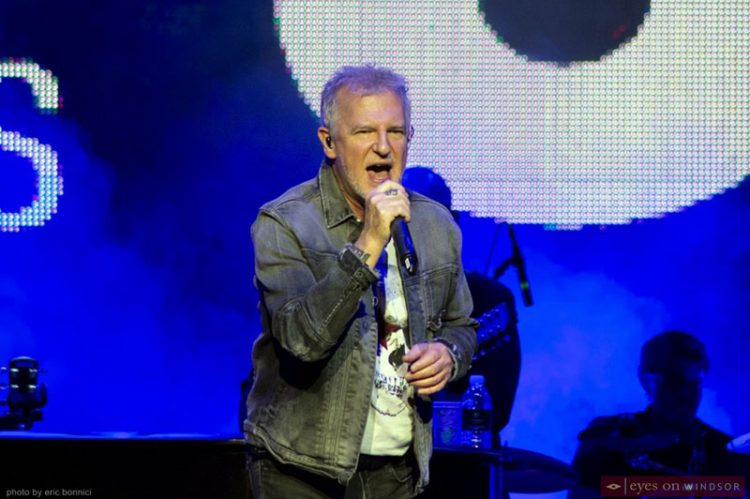 Glass Tiger Opens Nostalgia During The Chieftains Concert at Caesars Windsor