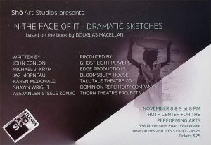 In the Face of It - Dramatic Sketches Poster