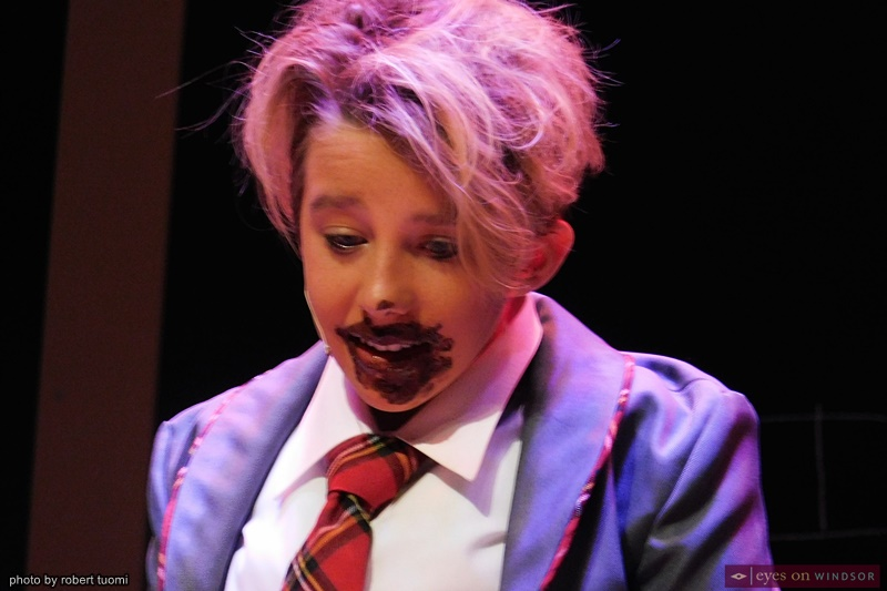 Lukas Lynch Cast Member of Windsor Light Music Theatre's Matilda