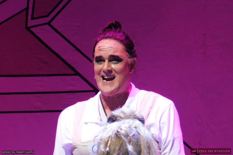 Actor Jim Reid Windsor Light Music Theatre