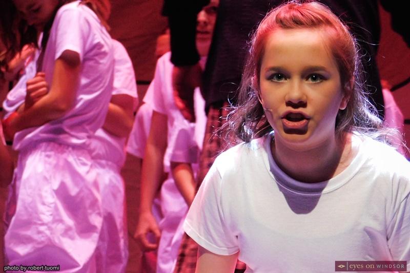 Josephine 'Posy' Cormier cast as Matilda with Windsor Light Music Theatre
