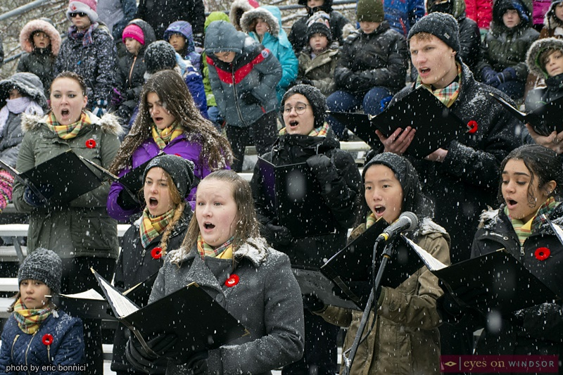 Windsor Remembrance Day Windsor Essex Community Choir
