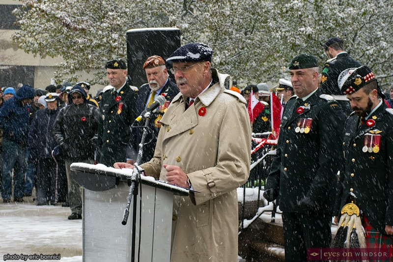 Micheal Beale Windsor Remembrance Day