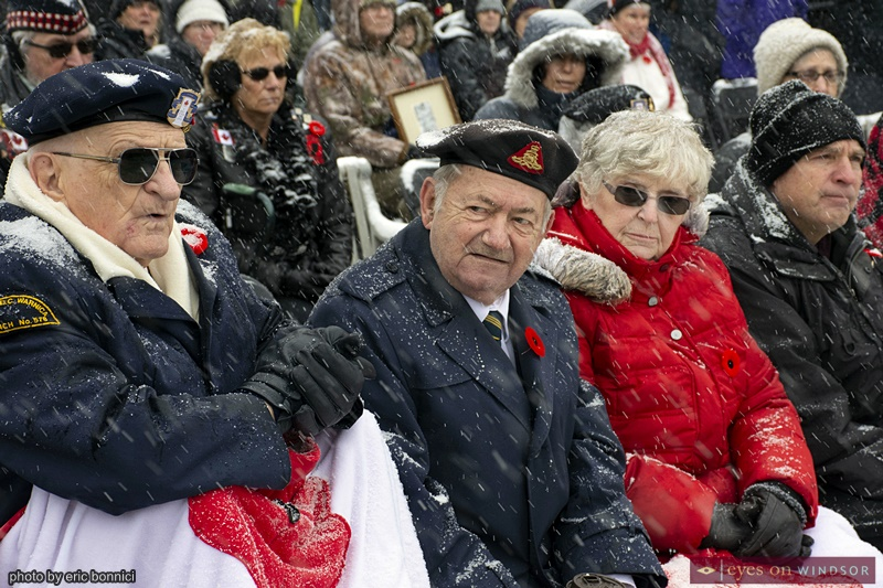 Military Veterans Remembrance Day Windsor