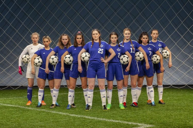 University Players' The Wolves Scores Big With Feisty Female Soccer Players