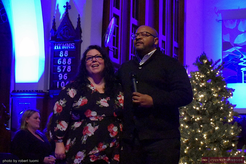 Kathleen Rutherford-Costa and Michael Rice ACT Windsor Home For The Holidays Christmas Concert