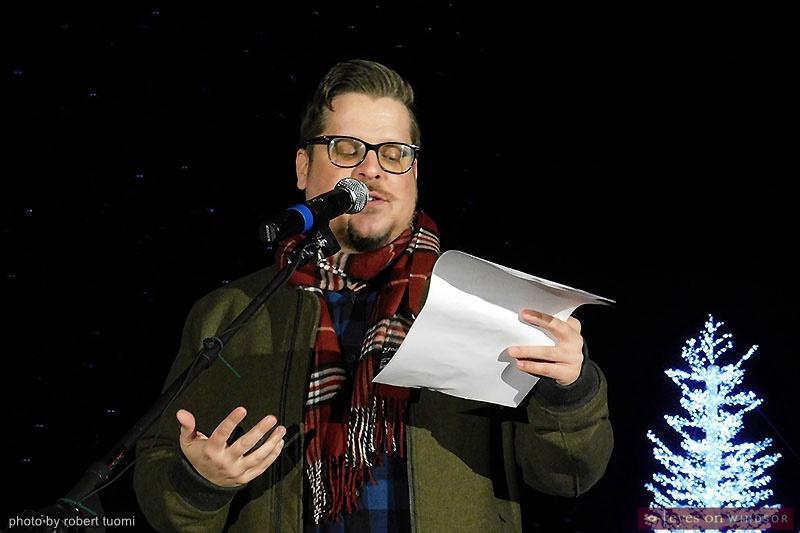 Dan MacDonald emcee Bright Lights Windsor