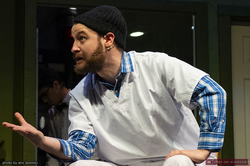 Actor Kyle C. Haight as Randle P. McMurphy in Cardinal Music's One Flew Over The Cuckoo's Nest
