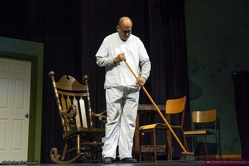 Khalid Baksh performing in Cardinal Music Productions One Flew Over The Cuckoo's Nest